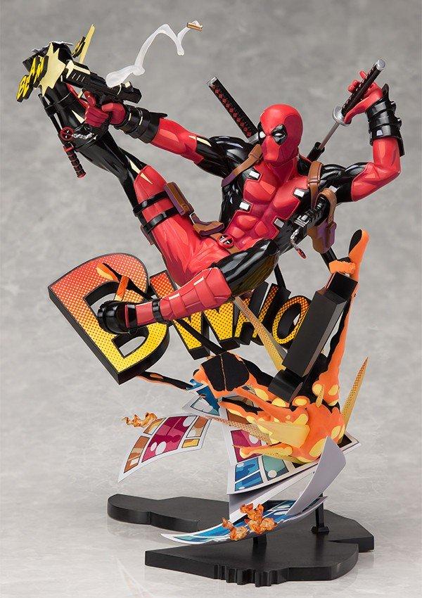 Deadpool presenta una nueva e impresionante figura que parece sacada de los cómics