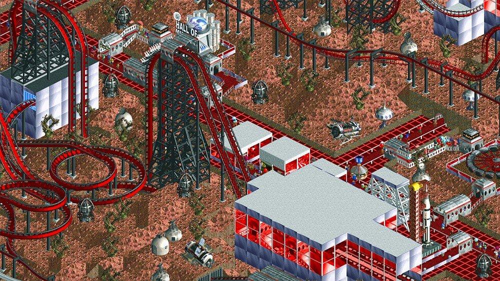 Rollercoaster Tycoon 2: Dedica una década a construir un gigantesco parque de atracciones