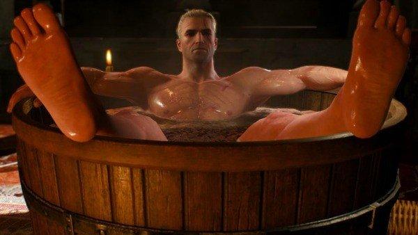 Las escenas de baños en videojuegos tienen más importancia de la que crees