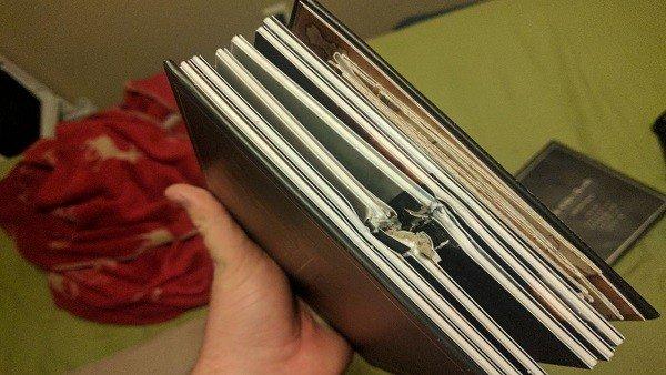 The Elder Scrolls Anthology salva la vida a un hombre parando una bala