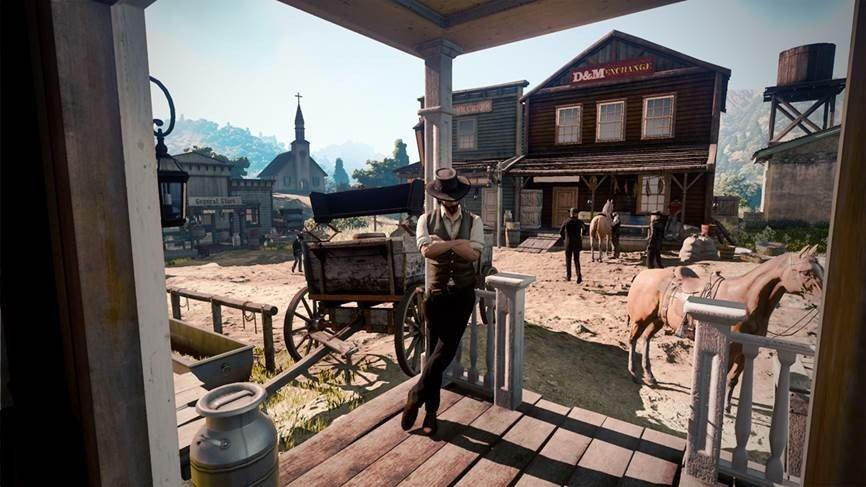 Red Dead Redemption 2: Su imagen filtrada es falsa