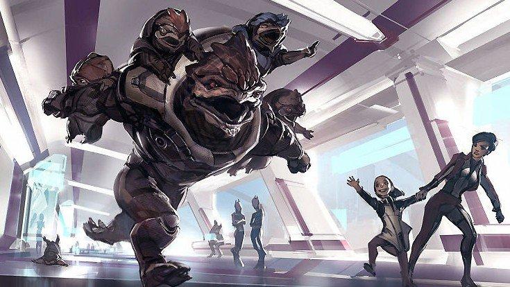 Mass Effect: Andromeda sería así si incluyera niños