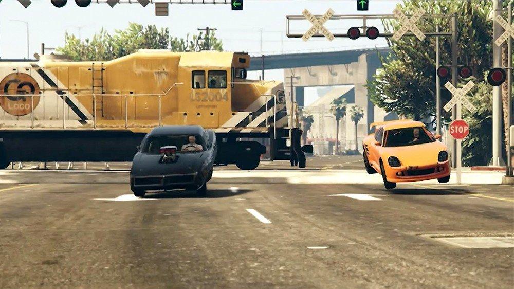 Grand Theft Auto V: Recrean cinco escenas de películas con el motor del juego