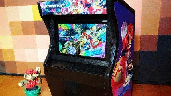 Nintendo Switch: Se crea una máquina arcade con la consola