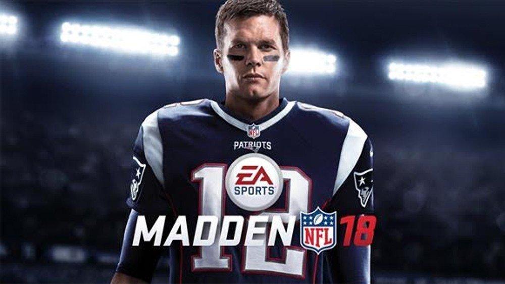 Madden NFL 18 presenta a Tom Brady como el protagonista de su portada