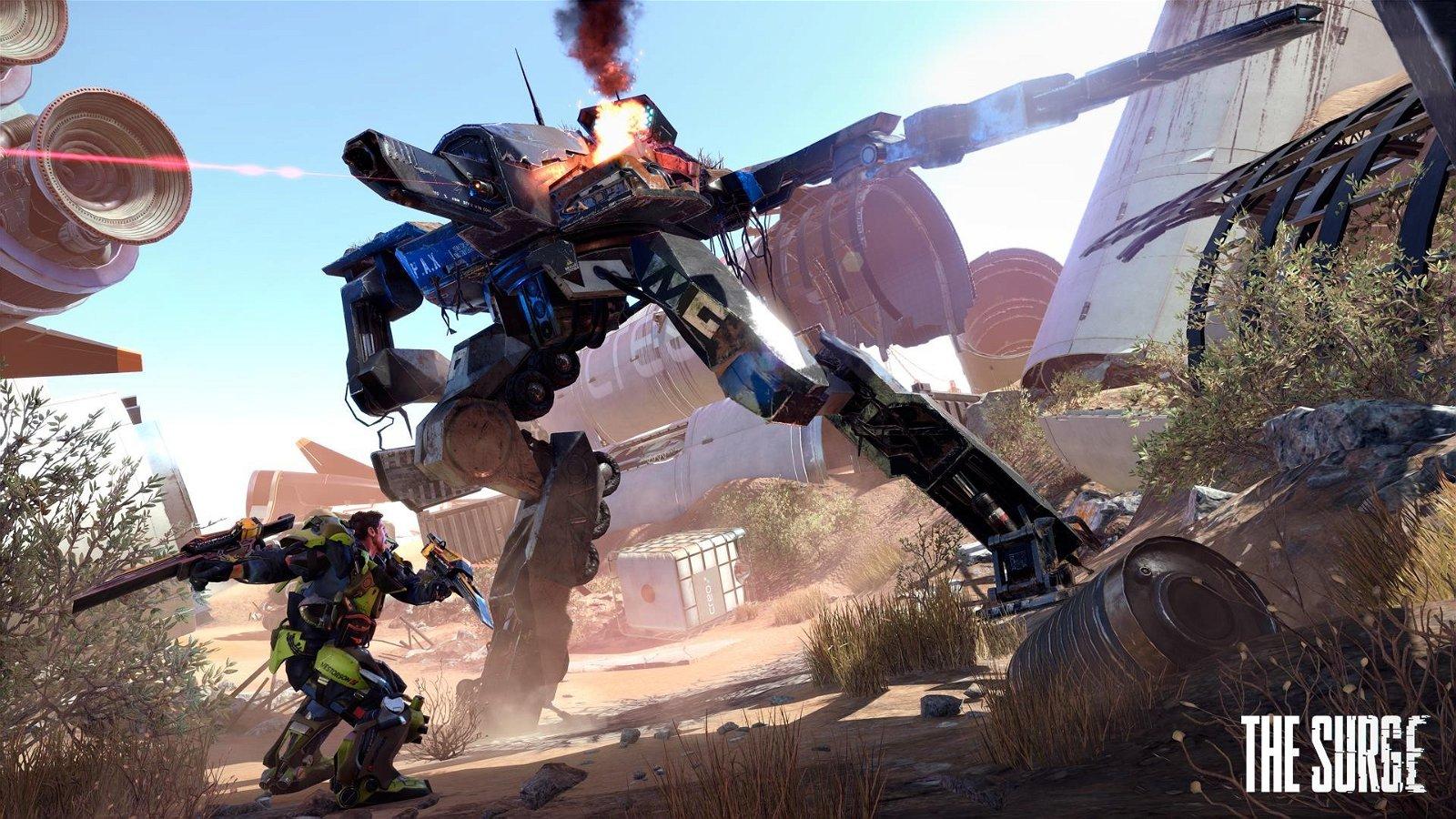 The Surge tendrá una demo para PlayStation 4, Xbox One y PC