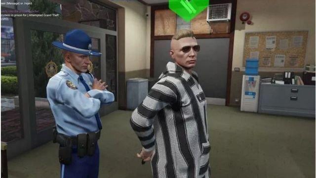 Grand Theft Auto Online: Un juego de rol privado sigue las aventuras del sheriff Eli Thompson