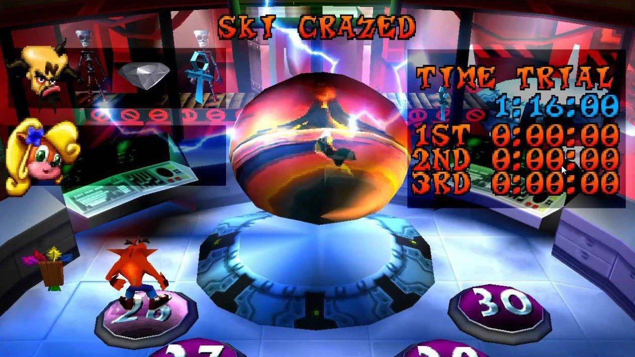 Crash Bandicoot y los niveles más ocultos de la trilogía original