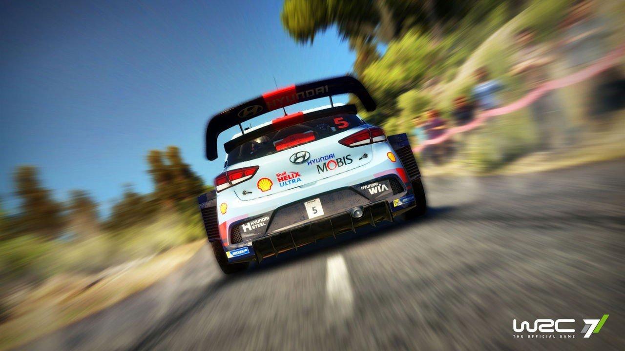 Nuevo juego de rally WRC7 anunciado para este otoño
