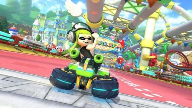 Mario Kart 8 Deluxe elimina un gesto ofensivo de la chica Inkling