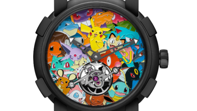 Pokémon ya tiene su propio reloj de lujo por valor de 258.000 dólares