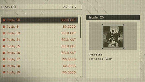 NieR: Automata: Guía para acceder a la tienda secreta y comprar los trofeos del juego