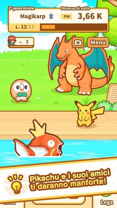 Pokémon: Magikarp Jump es el nuevo juego de la serie para móviles