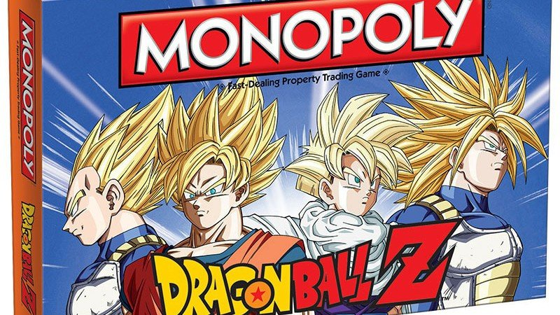 Dragon Ball Z: El Monopoly también llegará a Europa