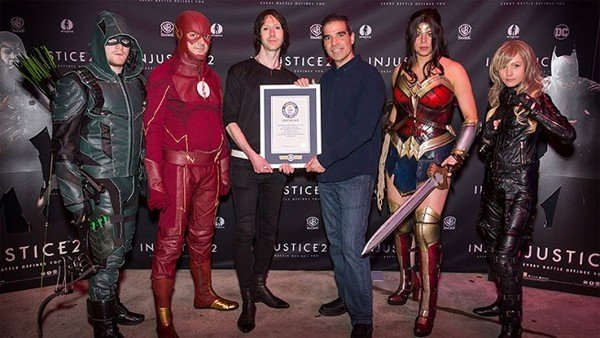 Injustice 2 consigue un Récord Guinness frente a Mario, Pacman y Donkey Kong