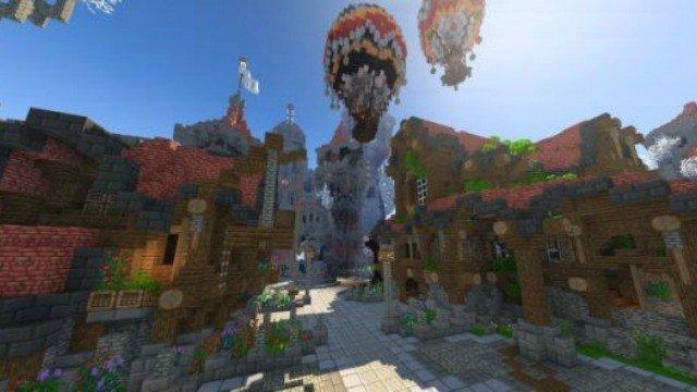 Minecraft: Sus jugadores crean un MMO dentro del propio juego