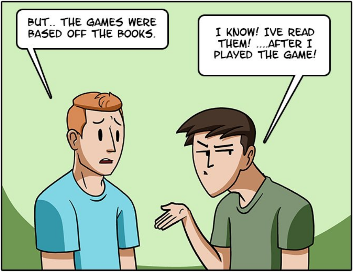 Esto es lo que ocurre cuando hacen una serie de tu videojuego favorito