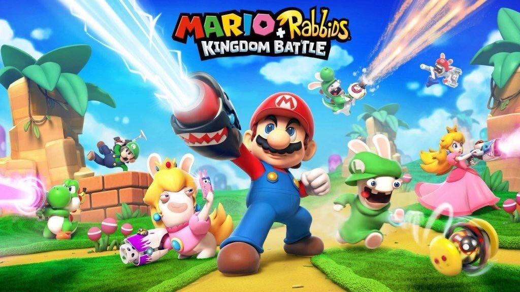 E3 2017 U-tad: Mario + Rabbids: Kingdom Battle llegará a Switch el 29 de agosto