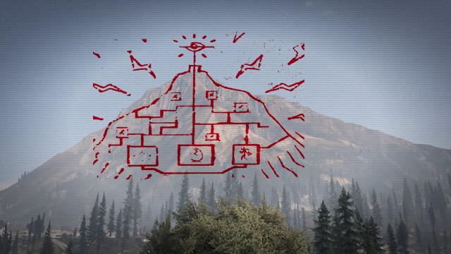Grand Theft Auto V y el misterio del mural del Monte Chiliad