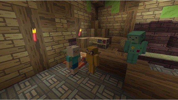 Minecraft recibe a Hora de Aventuras en su nuevo pack de contenido