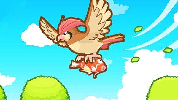 Magikarp Jump: El pokémon protagonista puede morir durante la partida