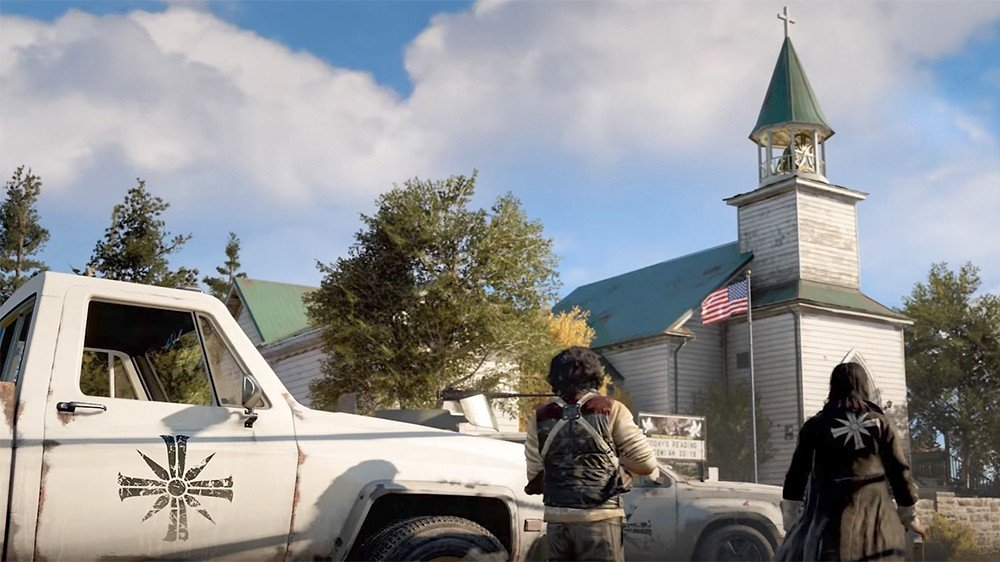 Far Cry 5 comparte nuevos detalles del modo cooperativo