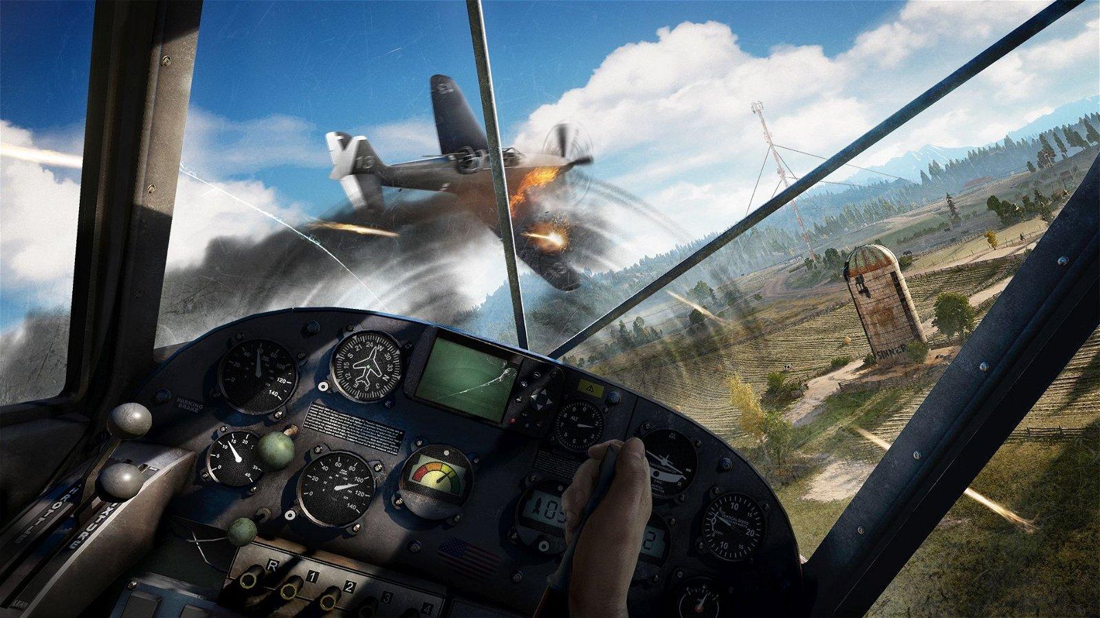 E3 2017 U-tad: Far Cry 5 comparte un gameplay protagonizado por el piloto Nick Rye