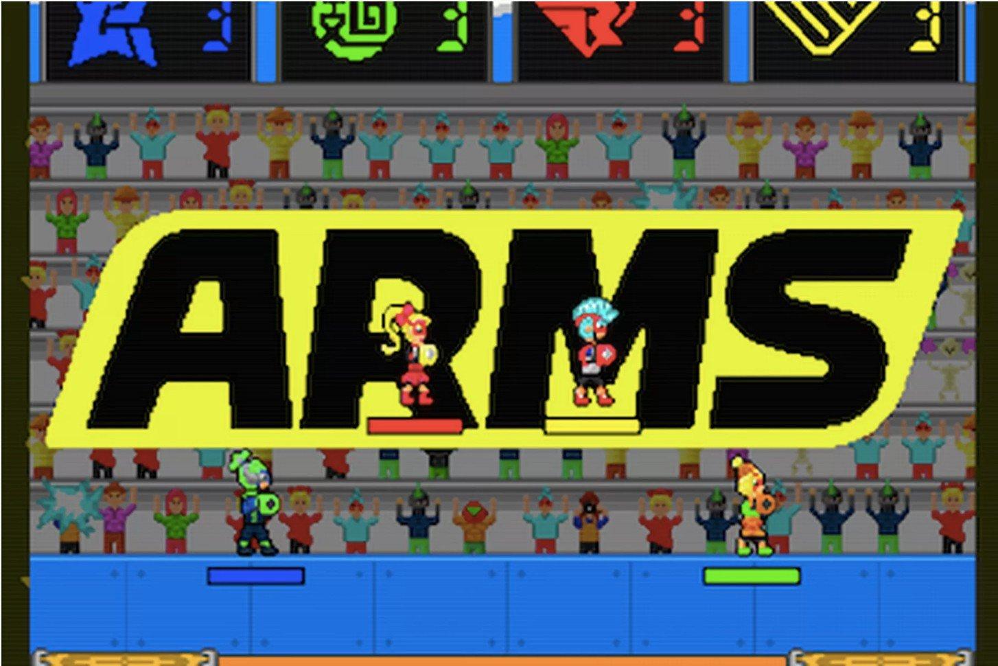 ARMS: Un fan ya ha realizado un remake en 2D