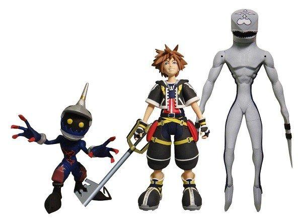 Kingdom Hearts  contará con una nueva gama de figuras de Diamond Select Toys