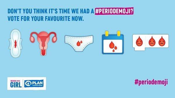 Una ONG propone lanzar incluir emoticonos de la menstruación