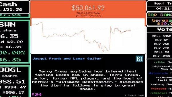 Un hombre deja 50.000 dólares en poder de usuarios de Twitch para que hagan lo que quieran con ellos