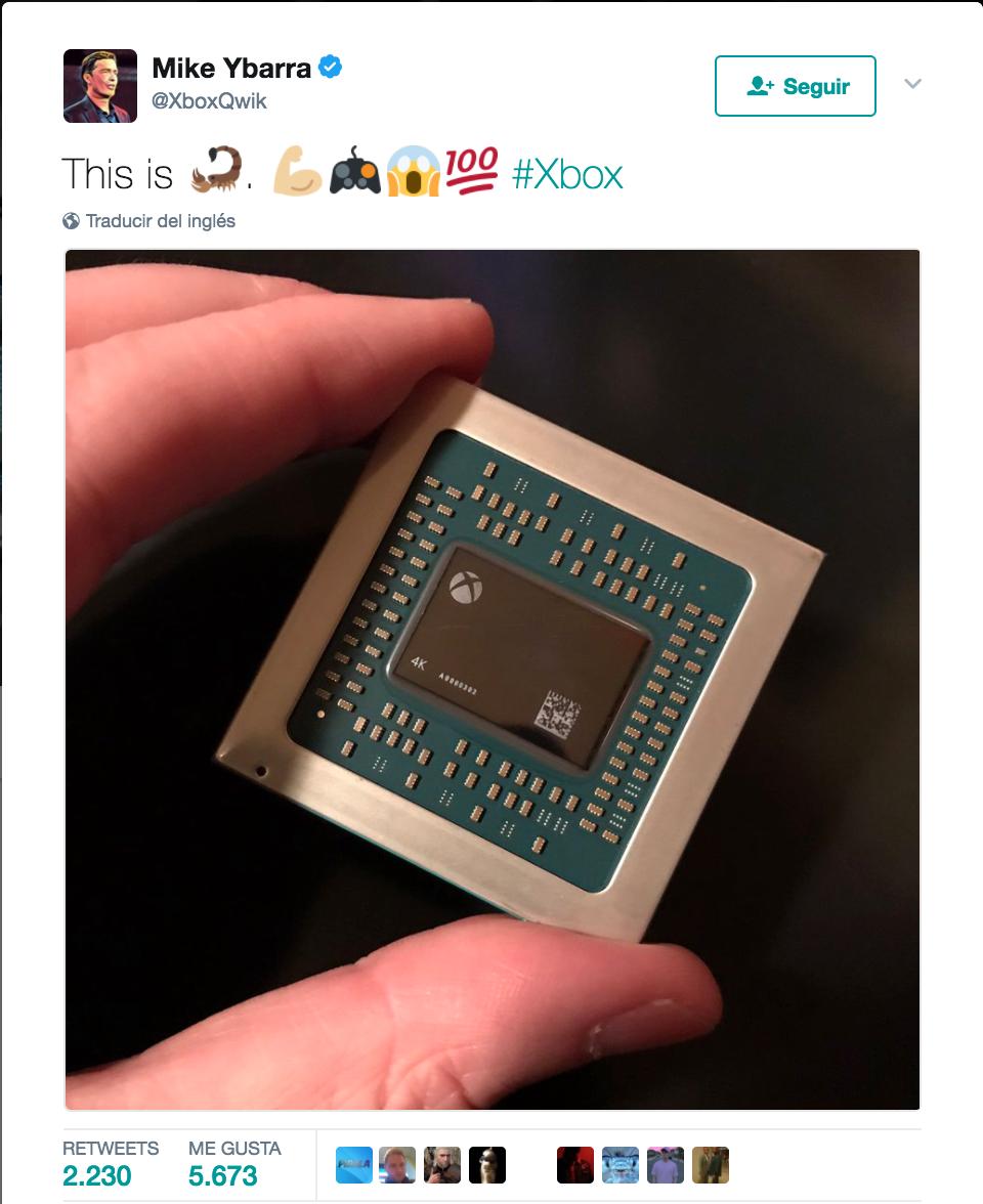 Project Scorpio: así es el chip principal de la nueva consola de Microsoft