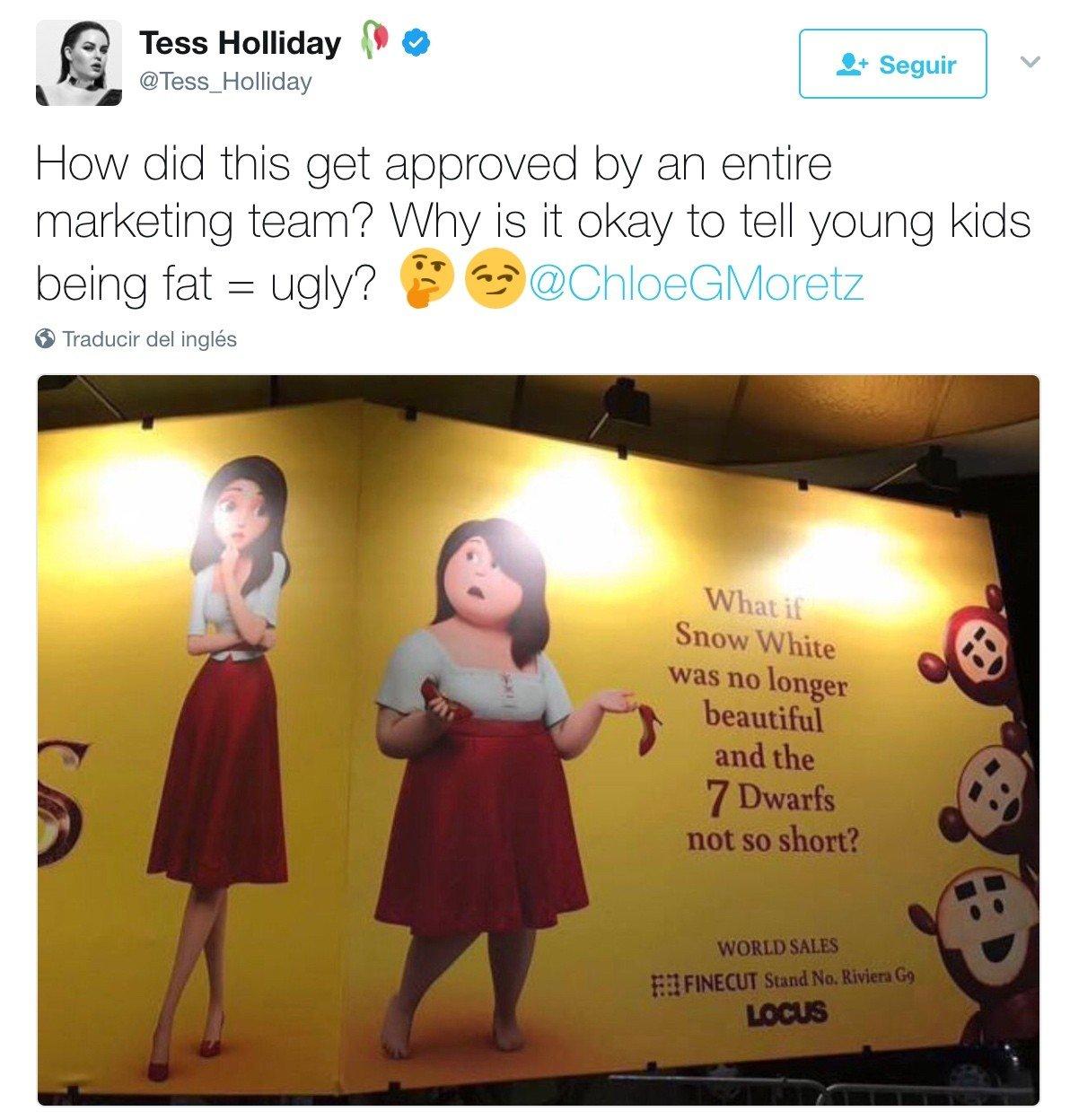 Chloë Grace Moretz está furiosa por la campaña publicitaria de su próxima película de animación