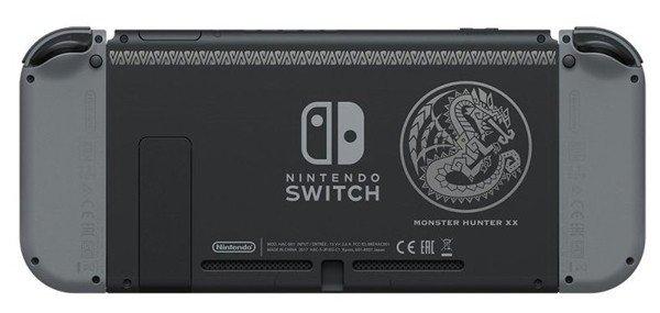 Nintendo Switch tendrá una edición especial basada en Monster Hunter XX