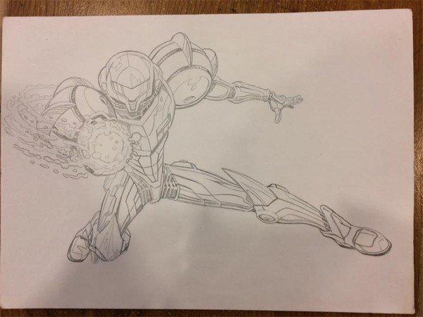 Metroid presenta algunos bocetos de su cómic cancelado