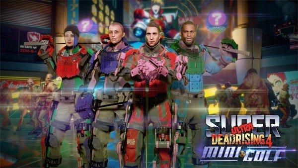 Dead Rising 4 presenta su nuevo y curioso DLC de minigolf