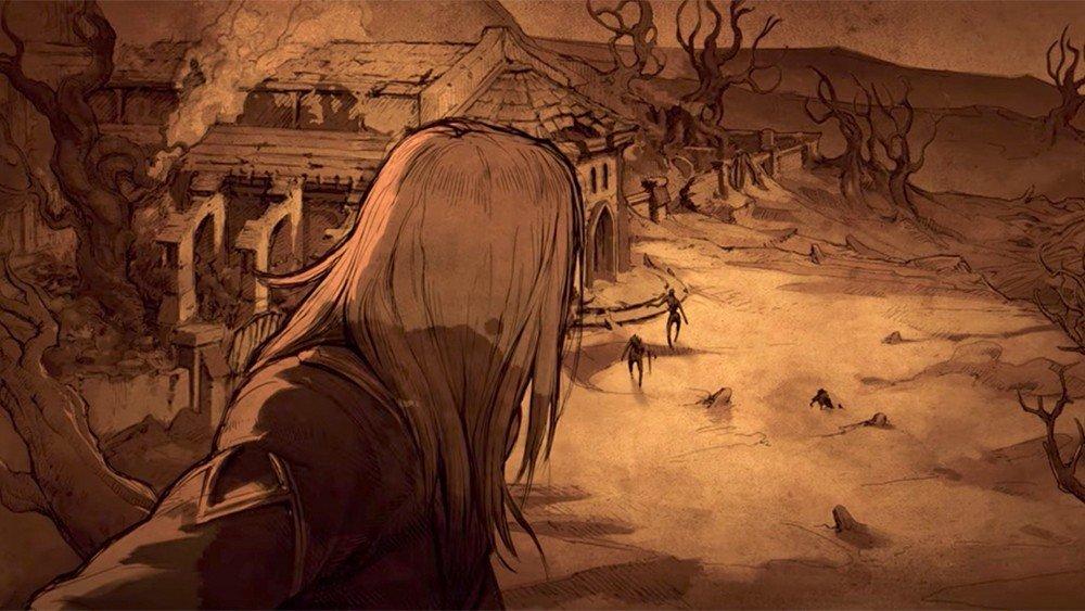 Diablo 3 comparte la cinemática de presentación del nigromante