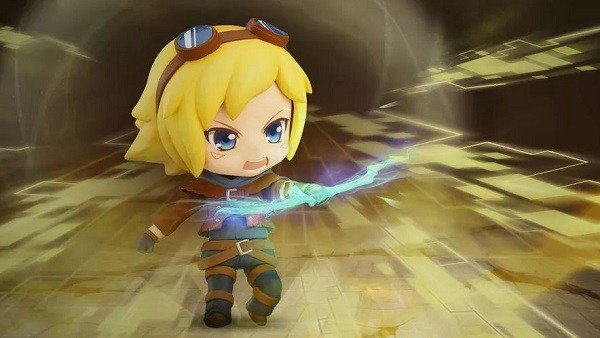 League of Legends presenta la figura Nendoroid de Ezreal