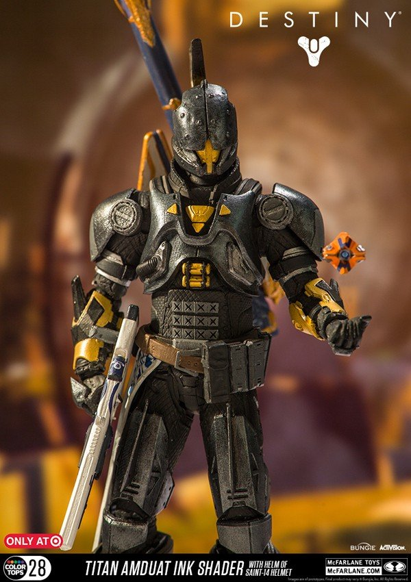 Destiny muestra nuevas imágenes de su colección de figuras