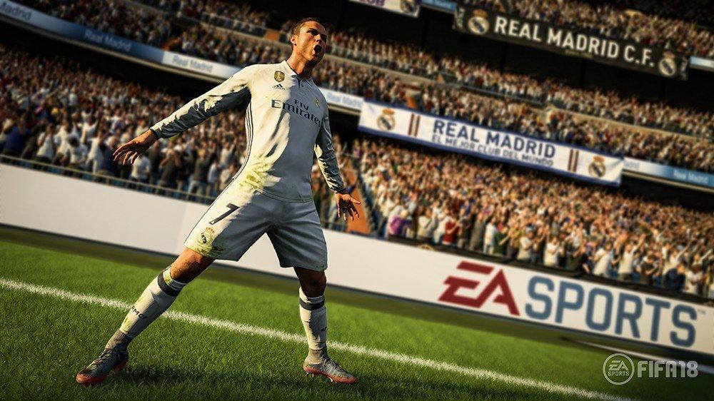 FIFA 18 confirma su fecha de lanzamiento y a CR7 como portada