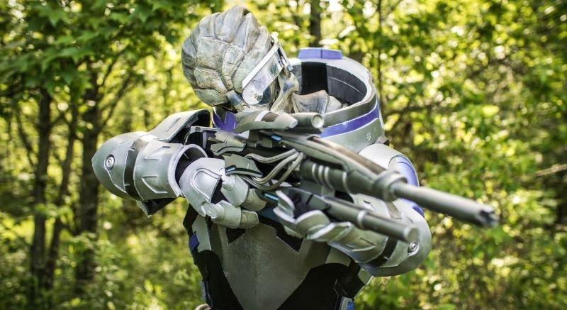 Mass Effect ya cuenta con el mejor cosplay de Garrus