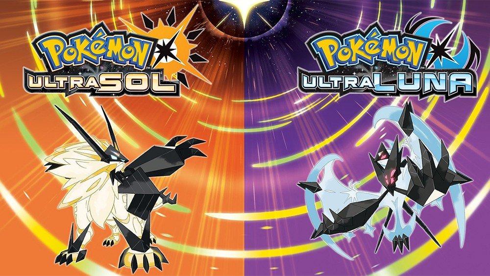 Pokémon UltraSol y UltraLuna llegarán a Nintendo 3DS este año