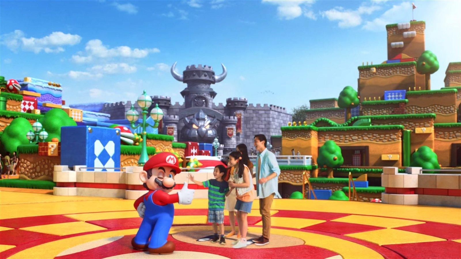 Cómo debería ser un parque de atracciones de Nintendo