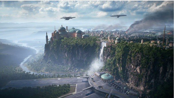E3 2017 U- Tad: Star Wars: Battlefront 2 presenta su mapa Theed