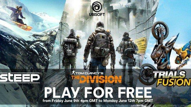 Ubisoft ofrece un fin de semana gratuito en tres de sus juegos para PC