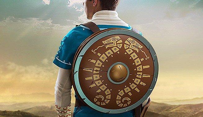 The Legend of Zelda: Breath of the Wild: El escudo de Link se convierte en mochila que ya puede ser tuya