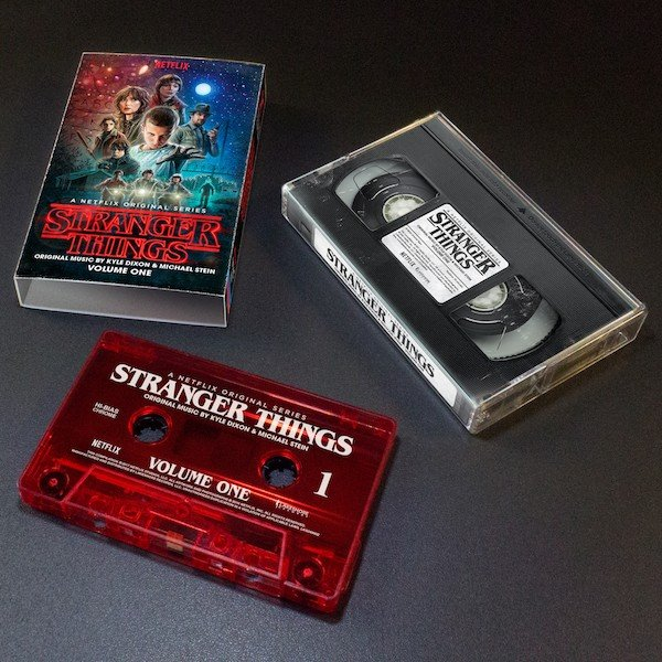 Stranger Things lanzará su banda sonora en formato de cinta de casete