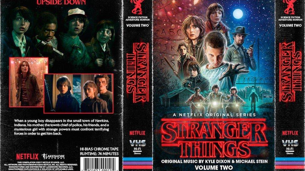 Stranger Things lanzará su banda sonora en formato de cinta de cassette