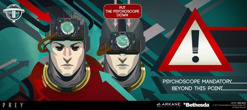 Prey: Arkane Studios muestra unas increíbles imágenes de su diseño artístico