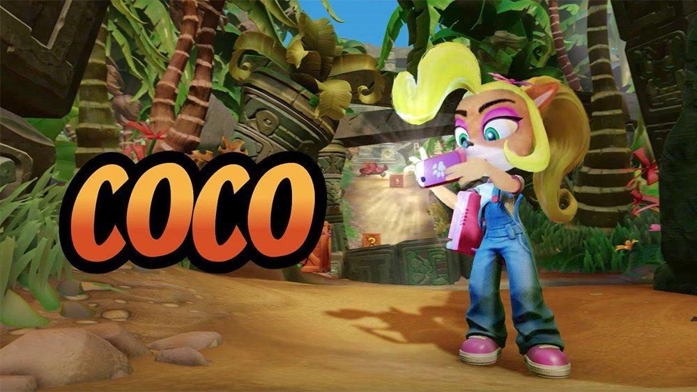 E3 2017 U-tad: Crash Bandicoot N. Sane Trilogy permitirá jugar como Coco